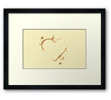 Coffee Love Framed Print