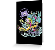 Monsters Fink II Greeting Card