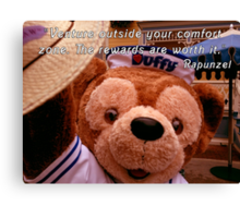 Rapunzel quote on Duffy Canvas Print