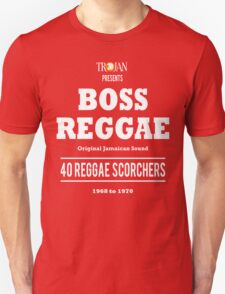 BOSS REGGAE: Original Jamaican Sound Unisex T-Shirt