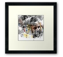 over the rime............ Framed Print