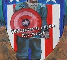 You Too Can Be A Hero Just Like Cap! by Luke Tomlinson