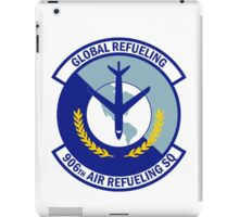 906th Air Refueling Squadron - Global Refueling iPad Case/Skin
