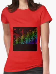Suburb Womens Fitted T-Shirt