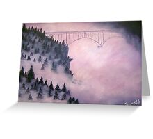 Deception Pass, Washington ~ Oil Painting Greeting Card