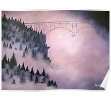 Deception Pass, Washington ~ Oil Painting Poster