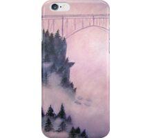 Deception Pass, Washington ~ Oil Painting iPhone Case/Skin