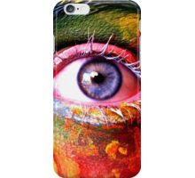 Face Paint #4 iPhone Case/Skin
