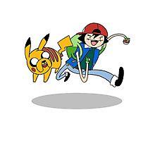 Pokemon Adventure Time Photographic Print