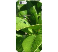 Lime Green Fly iPhone Case/Skin