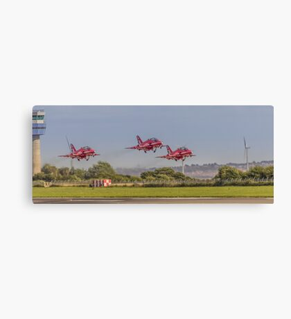 Triplets of the air Canvas Print