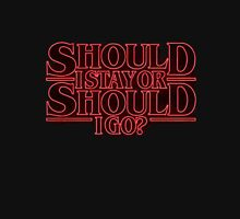 Stranger Things - Should I stay or should I go? Classic T-Shirt