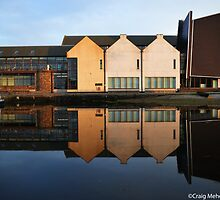 The Reflection of Shetland Archives  by Craig  Meheut