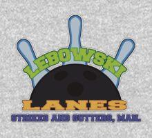Lebowski Lanes Logo One Piece - Long Sleeve