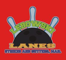 Lebowski Lanes Logo Kids Tee