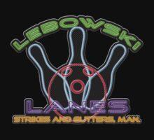Lebowski Lanes Neon Logo  Kids Clothes