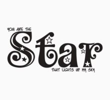 You are the Star that lights up my sky. Baby Tee