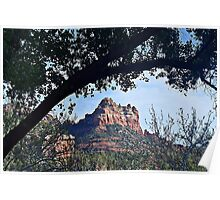 Framed In Sedona Poster
