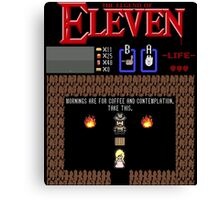 The Legend Of Eleven Canvas Print