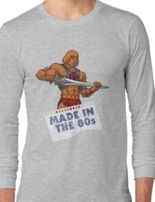 He-Man Made in the 80s Long Sleeve T-Shirt