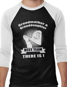 Grandmother & Granddaughter Best Team There is Men's Baseball ¾ T-Shirt