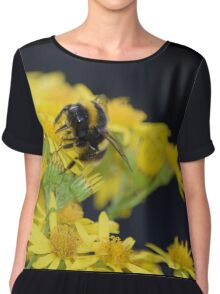 Busy Bumble Bee Chiffon Top