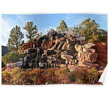 Sedona Waterfall Poster