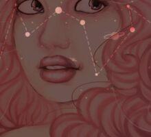 Rose Quartz Stars  Sticker