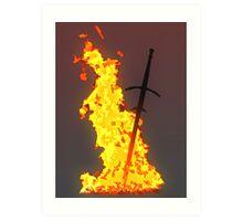 Bonfire ( Dark Souls II ) Art Print