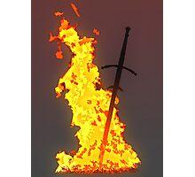 Bonfire ( Dark Souls II ) Photographic Print