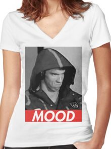 Phelps Mood Women's Fitted V-Neck T-Shirt