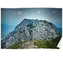 Rocky limestone peak Poster