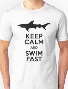 Shark! Keep Calm and Swim Fast T-Shirt