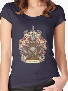 Dovah-crest Women's Fitted Scoop T-Shirt