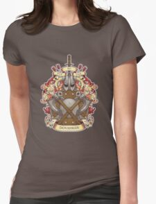 Dovah-crest Womens Fitted T-Shirt