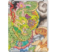 Koi dragon and koi fish iPad Case/Skin