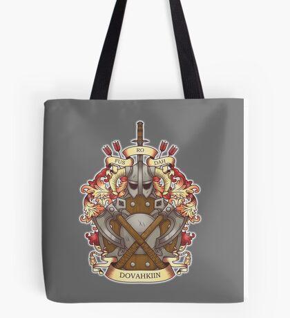 Dovah-crest Tote Bag