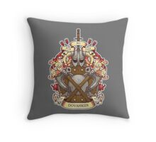 Dovah-crest Throw Pillow