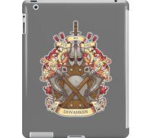 Dovah-crest iPad Case/Skin