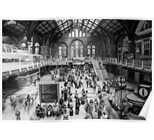 Liverpool Street Station Poster