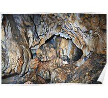 Cave interior Poster