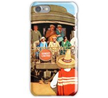 Sunset Limited to New York Southern Pacific Lines Poster iPhone Case/Skin