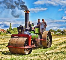 Aveling Roller by ipgphotography
