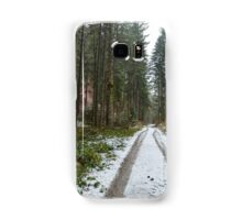 Road through the forest Samsung Galaxy Case/Skin