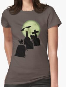 creatures of the night Womens Fitted T-Shirt