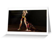 Mortal Kombat X Mileena Submits To Thighs Greeting Card
