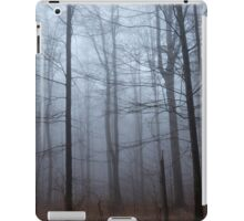 Spooky forest and mist iPad Case/Skin
