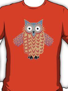 Cute Little Owl Drawing T-Shirt