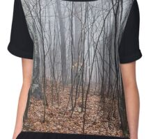 Scary forest Chiffon Top