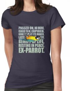 EX - Parrot Womens Fitted T-Shirt